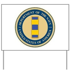 Navy Chief Warrant Officer 2 Yard Sign
