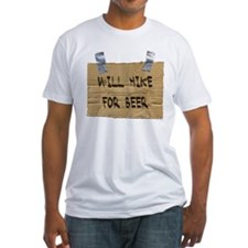 WILL HIKE FOR BEER Shirt