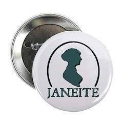 Jane Austen Janeite 2 Button