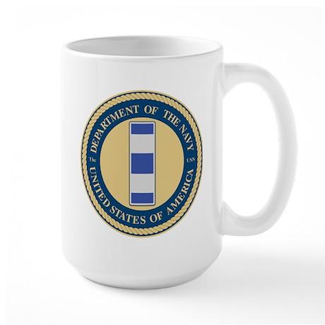 Navy Chief Warrant Officer 4 Large Mug