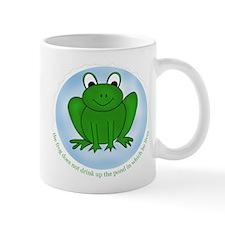 Reduce Reuse Recycle Frog Mug