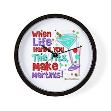 Make Martinis Wall Clock