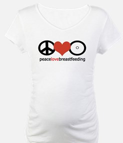 Peace, Love & Breastfeeding Shirt