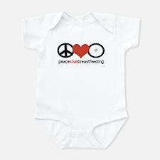 Peace, Love & Breastfeeding Infant Bodysuit