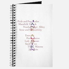 Jane Austen books2 Journal