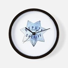 Sacramento Deputy Sheriff Wall Clock