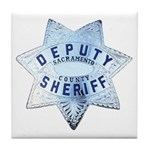 Sacramento Deputy Sheriff Tile Coaster