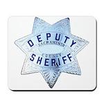 Sacramento Deputy Sheriff Mousepad