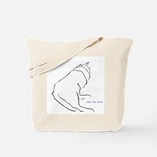 napping cat Tote Bag