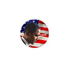 Obama, The President Mini Button