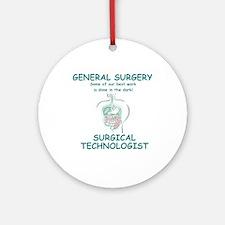 Gen Surg ST Ornament (Round)