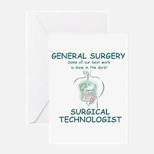 Gen Surg ST Greeting Card