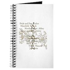 Jane Austen Books 5 Journal