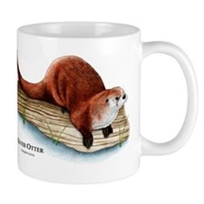 Northern River Otter Mug