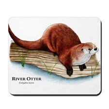 Northern River Otter Mousepad