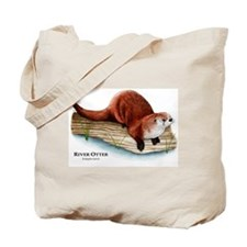 Northern River Otter Tote Bag