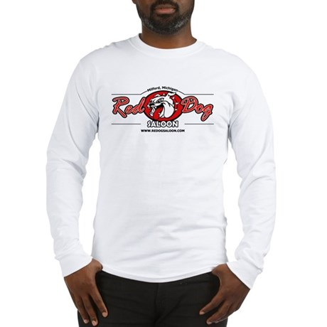 """Red Dog Classic"" Long Sleeve Tee (white"