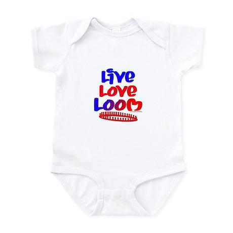 Live Love Loom Infant Bodysuit