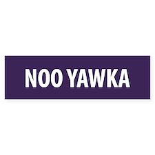 Noo Yawka Bumper Bumper Sticker