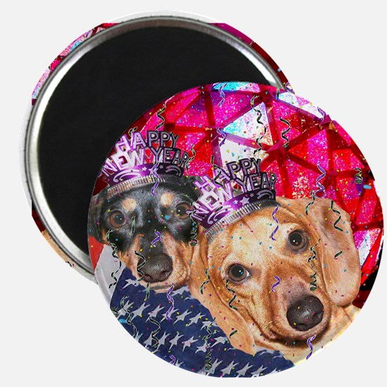 New Year Ball Magnet