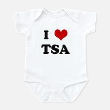 I Love TSA Onesie