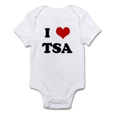 I Love TSA Infant Bodysuit
