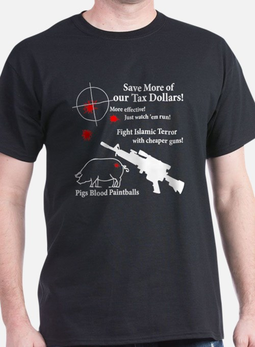 Pigs Blood Paintball T-Shirt