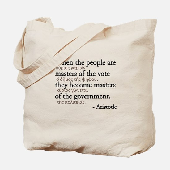 Master the Vote Tote Bag