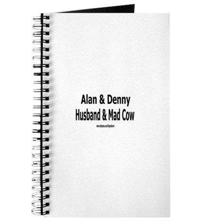 HUSBAND MAD COW 1 Journal