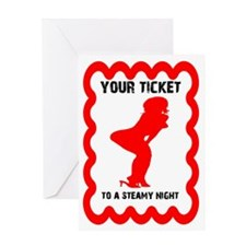 Steamy Night Valentine's Day Card