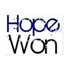 Hope Won Postcards (Package of 8)