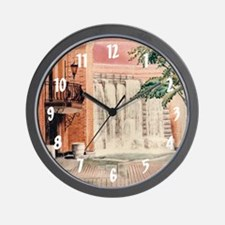Heinz Hall Fountain Wall Clock