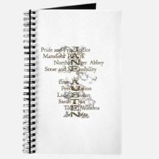 Jane Austen Books 6 Journal