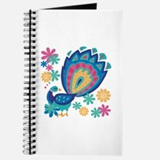 Pretty Peacock Six Journal