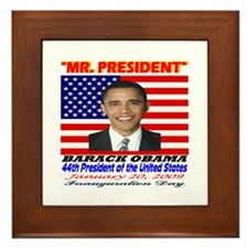 Cute Obama collectibles Framed Tile