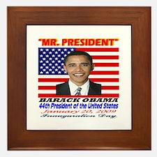 Unique Obama collectibles Framed Tile