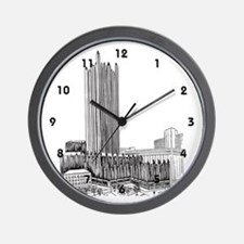 Pittsburgh Plate Glass Building Wall Clock