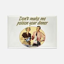 Poison Dinner - Rectangle Magnet