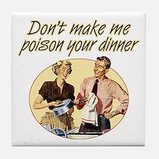 Poison Dinner - Tile Coaster