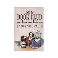 Book Club Rectangle Magnet