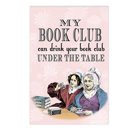 Book Club Postcards (Package of 8)