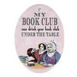 Book club Oval Ornaments