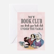 bookclub5 x 7 Greeting Cards