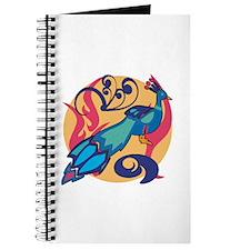 Pretty Peacock Seven Journal