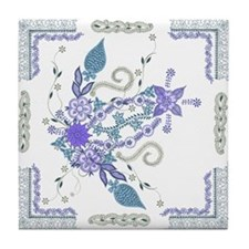 Cool Grunge Tile Coaster