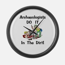 Archaeologists Gift Large Wall Clock