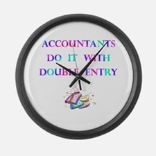 Accountants Gift Large Wall Clock
