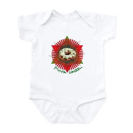 Pizza Bagel Infant Bodysuit