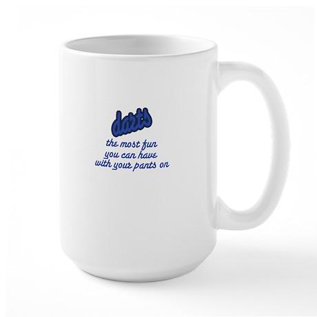Darts/Fun Large Mug