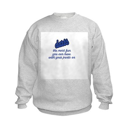 Darts/Fun Kids Sweatshirt